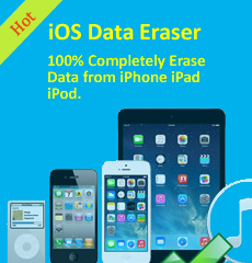 iOS data eraser program