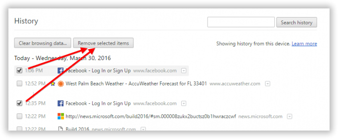 How to clear browsing history on google chrome on mac remove selected items ccuart Gallery